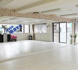 DANCE STUDIO MOVEのスタジオレンタル